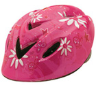 Bandit Pink Junior Helmet